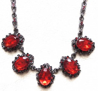 Red Sparkling Stones