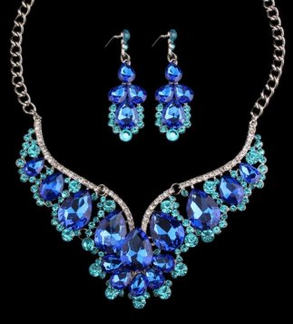 Blue Crystal Set