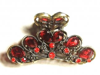 Red Crystal Clip