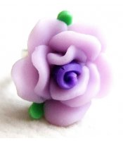 Lavender Clay Rose