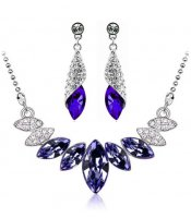 Purple Crystals Set