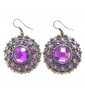 Purple Crystal Circles