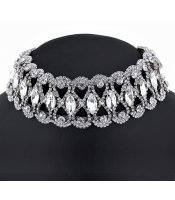 Silver Glamour Collar