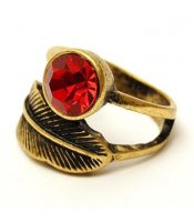 Red Leaf Ring