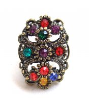Vintage Colorful Ring