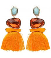 Tassel Crystal Orange