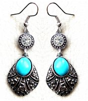 Turquoise Antic Drops