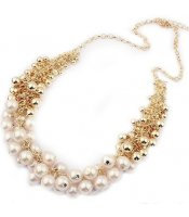 White Pearls Gold