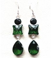 Green Crystal Silver