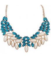 Pearl Collar Blue