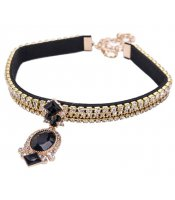 Black Glamour Collar