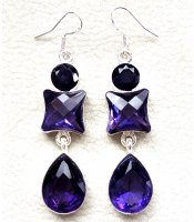 Purple Crystal Silver