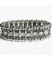 Silver Royal Bangle