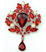 Wine Royal Brooch