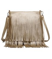Golden Tassel Bag