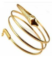 Golden Snake Bangle